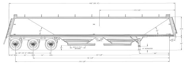 american ag tri axle rh timpte com Used Timpte Hopper Bottom Timpte Parts in 1